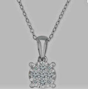 1/2 Carat Diamond Wedding Pendant